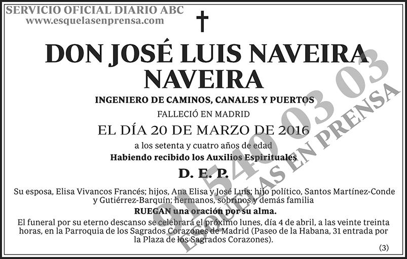 José Luis Naveira Naveira